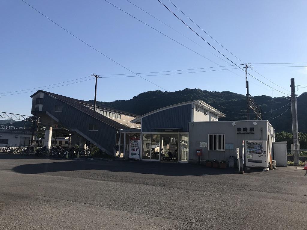 JR幸崎駅の駅舎外観