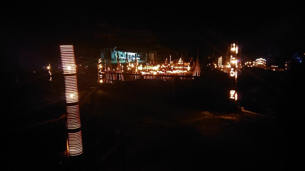 竹山荘の近くの「ほたるの里」